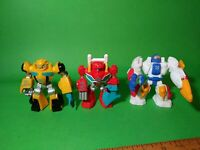 Hasbro Transformers Rescue Bots PVC Toy Lot Of 3 Figures Free Shipping