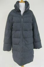 MONCLER Gray Briance Giubbotto Down Quilted Puffer Coat Size 2, EUC