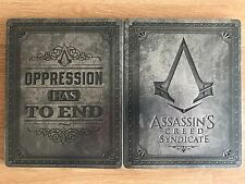 New Assassins Creed Syndicate Big Ben Steelbook NO GAME PS4 XBox One G2 Size