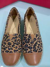 ZIERA Stylish and Comfortable Espadrille Leather Shoe Size 42 XF