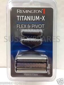 REMINGTON TITANIUM X SPF300 FOIL & CUTTER, F4900 F5800 F7800, FLEX AND PIVOT