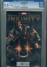 Infinity 4 CGC 9.8 Stegman Hero Variant War Thanos Avengers Black Order 1st