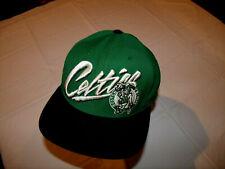 Boston Celtics Hat Mitchell & Ness Hardwood Classics Green/Black Snapback