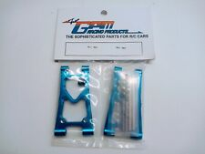 Tamiya TB04/TB-04, Alloy Rear Lower Arms (GPM/Blue). NIP