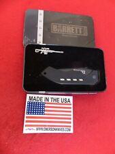 EMERSON New Barrett Arms Model M50 Black Plain Edge 154CM Emerson knife & bonus