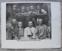 Blatt 1914-25 Ostpreussen Russische Gefangene Russland Eisenbahn Wagon WWI 1.WK