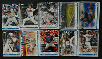 2019 Topps Series 1 Atlanta Braves Team Set 10 Baseball Cards