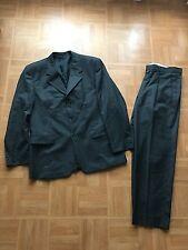 BRICE Costume VESTE + PANTALON GRIS ANTHRACITE LAINE  taille 54 achat immediat