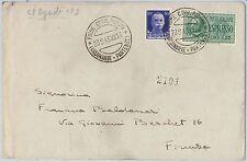 53496 - REGNO - Storia Postale: ESPRESSI su BUSTA da FIUME 1943