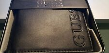 New GUESS BY MARCIANO BLACK MEN'S WALLET $42.00