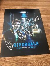 Riverdale Cast Autographed 11x14 Photo x5 Lili Camila KJ Cole Madelaine