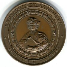 United States: Chicago Columbian Exposition Medal 1893, 50mm,