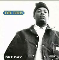 "DR DRE - DRE DAY 12"" VINYL LP 5 TRACKS CLEAR VINYL RARE OOP"