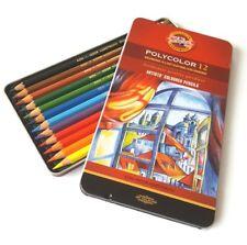 KOH-I-NOOR Polycolor Artists Coloured Pencils ** Set of 12 **