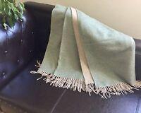 Wolldecke Wollplaid Tagesdecke Sofadecke Couchdecke Decke 135x170cm 100% Wolle