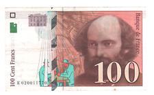 Billet 100 francs Cézanne 1997 TTB