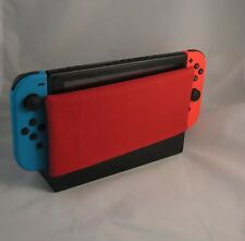 Red Cotton Dock Sock - Nintendo Switch Dock Cover - Screen Protector - Sleeve