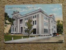 FIRST AD.VINTAGE.POSTCARD.BLACKSTONE HOSPITAL,BROAD & MILLER STS,PAWTUCKET.R.I.