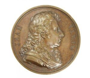 France 1820 Jean Varin Memorial Commemorative Bronze Medal E. Gatteaux