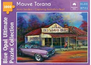 Blue Opal 1000 Piece Jigsaw Puzzle - Jenny Sanders: Mauve Torana