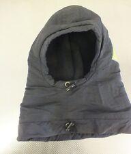 Henri Duvillard Black Fleece Lined Ski Hood GREAT Satisfaction Guaranteed LOOK