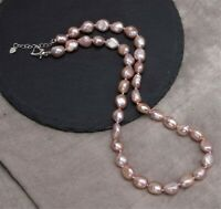 Women Lady Mother Gift for mum Real Pearl Necklace