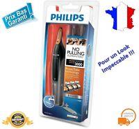 Tondeuse Rasoir Nez Oreille Sourcil Philips 100% étanche Series 3000 Coupe Poil
