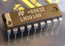 LM3914N Dot/Bar Display Driver, National Semiconductor