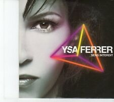 (DQ137) Ysa Ferrer, Sens Interdit - 2008 DJ CD