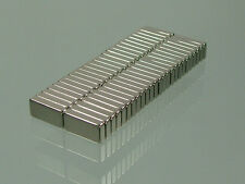 50pcs N52 block 10*5*2mm rare earth neodymium permanent super strong magnets