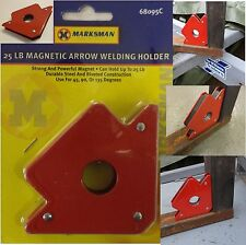 MAGNETIC WELD HOLDER ANGLE WELDER TOOLS USING MIG ARC GAS WORK WELDING EQUIPMENT