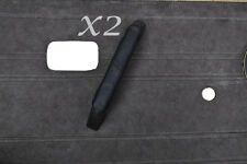 BLACK STITCH FITS VW T25 BUS VAN VANAGON WESTFALIA 2X DOOR HANDLE LEATHER COVER