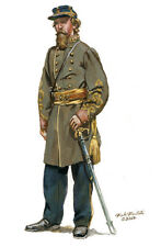 Mark Maritato Civil War General George E. Pickett 1862 Signed Giclée Art Print