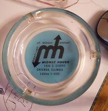 ashtray midway house 5400 cicero ill ashtray chicago hotel / restaurant