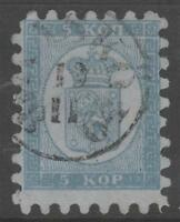 Finland 4 Kasko Cancel Rare ! 5 Kop  1860  ! No Faults Extra Fine! - §