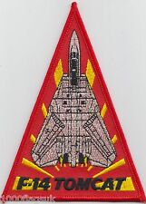 US Navy VF-111 Fighter Squadron 111 F/14 Tomcat Embroidered Patch Badge