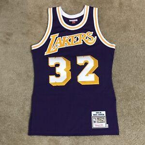 Mitchell & Ness Magic Johnson Los Angeles Lakers Jersey 1984-85 Purple 36 (S)