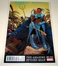 The AMAZING SPIDER-MAN # 17 Marvel Comic  Oct 2016  NM   BLACK PANTHER VARIANT