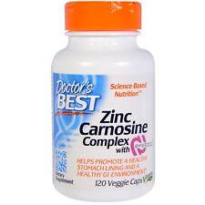 Doctor's Best Zinc Carnosine Complex mit PepZin 120 Veg.