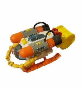 Mattel Matchbox Mission Undersea Squid Submersible Bath Toy - CBK84 Sub only