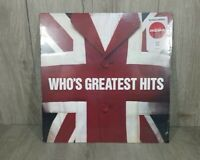 """The Who - Greatest Hits 12"""" LP Limited Edition Red Vinyl - New, Free Shipping"""