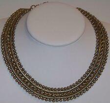 Vintage Estate Item Alloy Material Choker Necklace