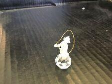 Ebeling & Reuss Crystal Figurine Clown Jumping Rope