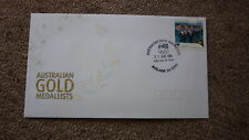 2004 AUSTRALIAN ATHENS OLYMPIC GOLD MEDAL FDC, ADELAIDE, MEDLEY RELAY SWIMMING
