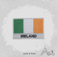 Ireland National Country Flag Patch Iron On Patch Sew On Embroidered Patch