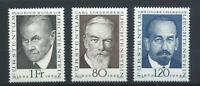 Liechtenstein N°453 et 456/57** (MNH) 1968/69 - Grands Philatélistes
