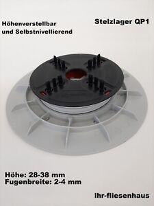 Stelzlager selbstnivellierend höhenverstellbar 28-38 mm QP1 für Terrassenplatten