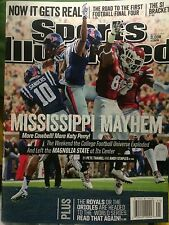 October 13, 2014 Ole Miss Mississippi State Bulldogs Sports Illustrated NO LABEL