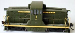 HO Bachmann Canadian National 44 ton Switcher Locomotive w/DCC Rd. #1 (K140212)