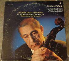 """Album By Gregor Piatgorsky, """"Dvorak: Cello Concerto"""" on Rca Victor"""